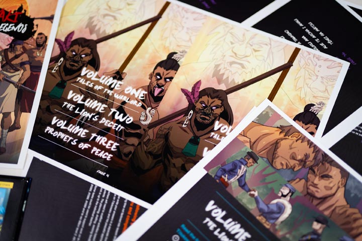 Graphic design grounded in kaupapa Māori values